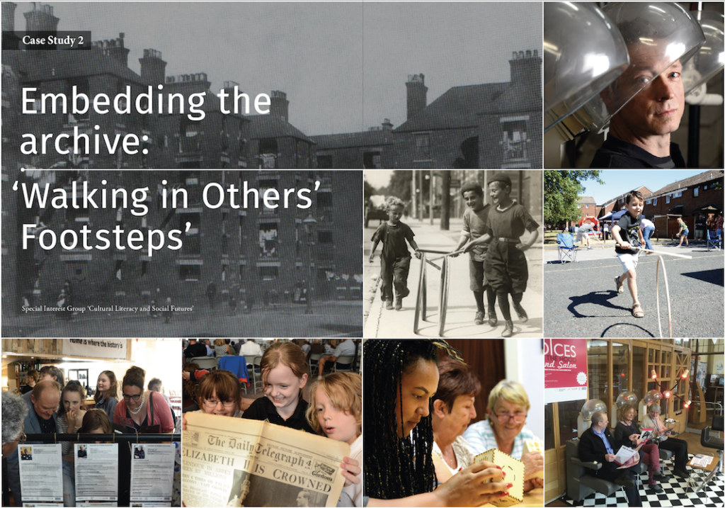 Embedding the archive: 'Walking in Others' Footsteps'