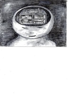 The Spatial Array of a Building as an Auxiliary MindIntrojected as an Auxiliary Mind, Painting by D. Wright